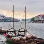 12-ФГ-0014 португалия лодки на реке дору