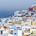12-ФГ-0021 белый город в Марокко