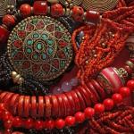 12-ФЛ-0004 украшения марокко красный