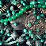 12-ФЛ-0015 украшения марокко зеленый