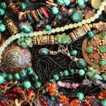 12-ФЛ-0016 украшения марокко рубины изумруды