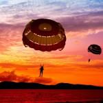 12-ФЛ-0018 парашюты закат