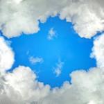12-ФПр-0051 облака небо рамка