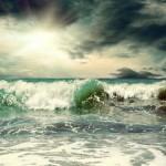 12-ФПр-0062 шторм зеленые волны