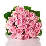 12-ФЦ-0004 свадебный букет розы
